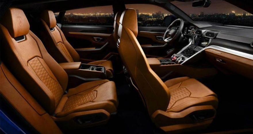 car interior luxury