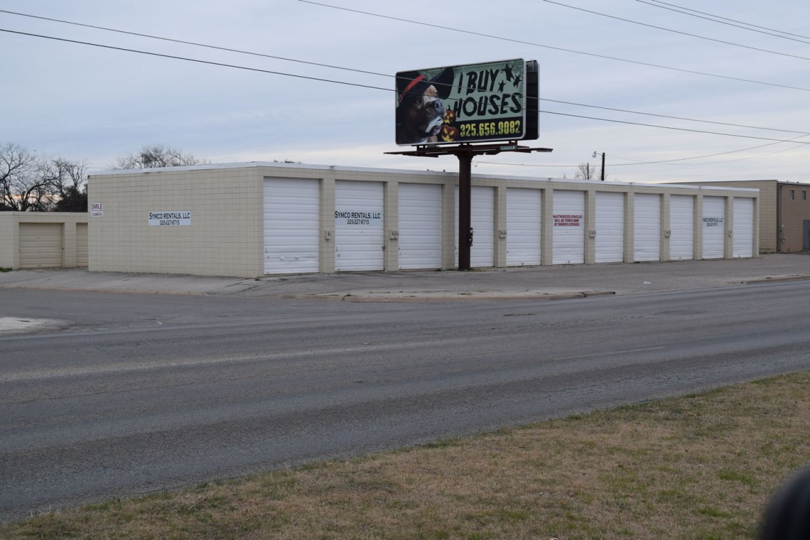 Storage Units - San Angelo TX - 1420 Glenna Street