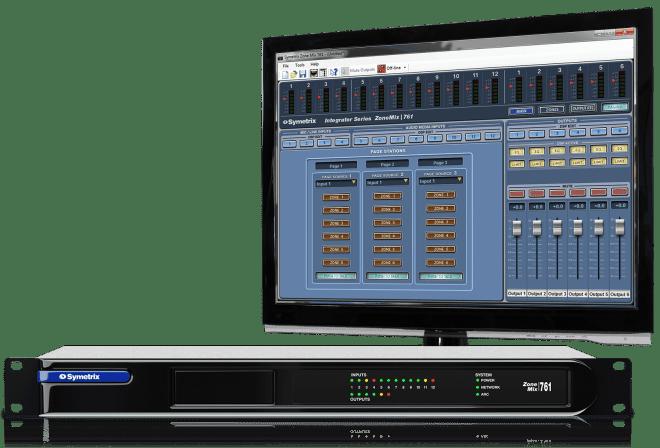 Symetrix Zone Mix 761 DSP