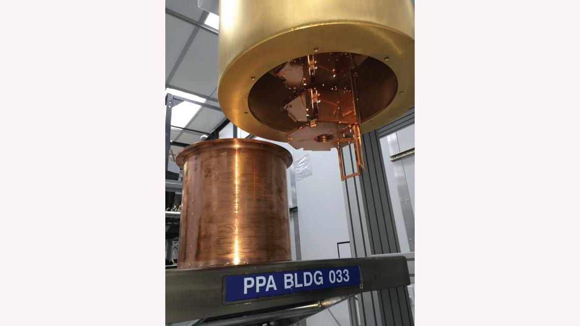 A new search for dark matter 6800 feet underground ...