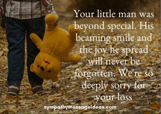 Sympathy Card Son Loss
