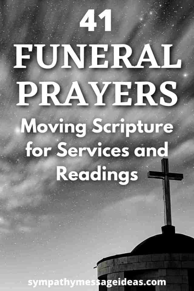 24 Funeral Prayers: Moving Scripture for Services and Readings