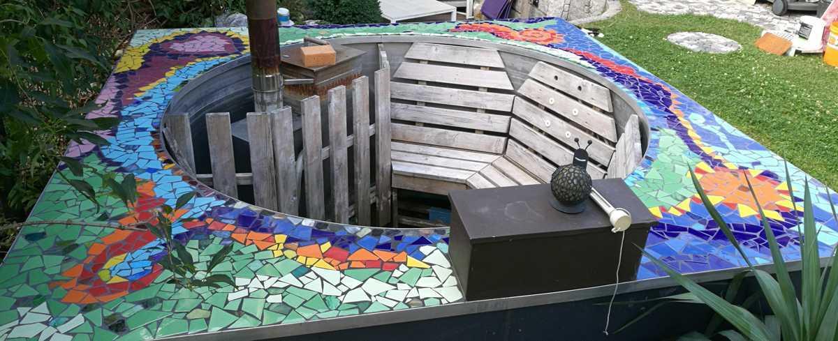 customized hot tub kit concrete 24 air