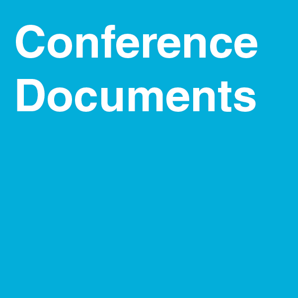 Conference Documentation