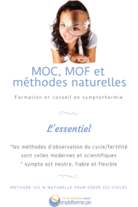 symptothermie MOC MOF methodes naturelles