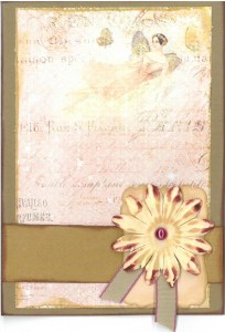 Flower fairy birthday card
