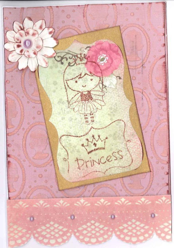 A floral princess