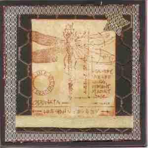 black dragonfly card
