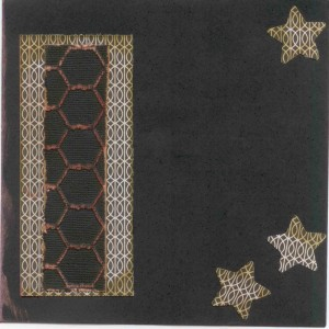 Black dragonfly envelope