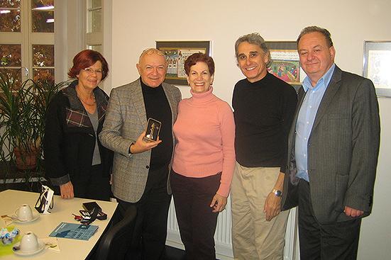 Gisela Kallenbach, Küf Kaufmann, Ellen Goldberg, Kantor Gerber