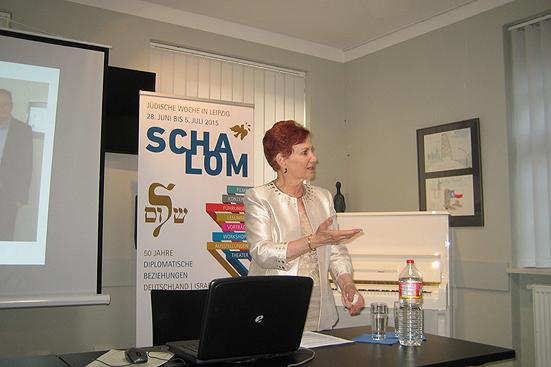 Vortrag von Ellen Goldberg