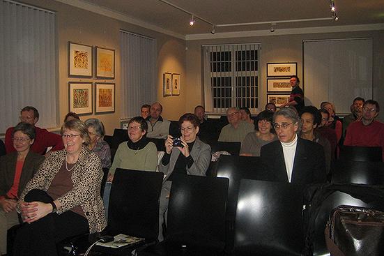 Besuch von Lev Raphael im Ariowitsch-Haus