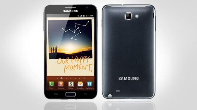 Samsung Galaxy Note – Erster Eindruck