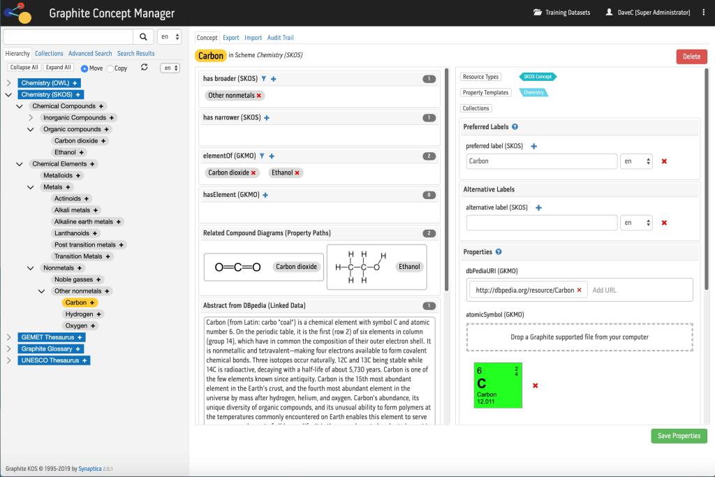 Synaptica Insights Bob Kasenchak Graphite