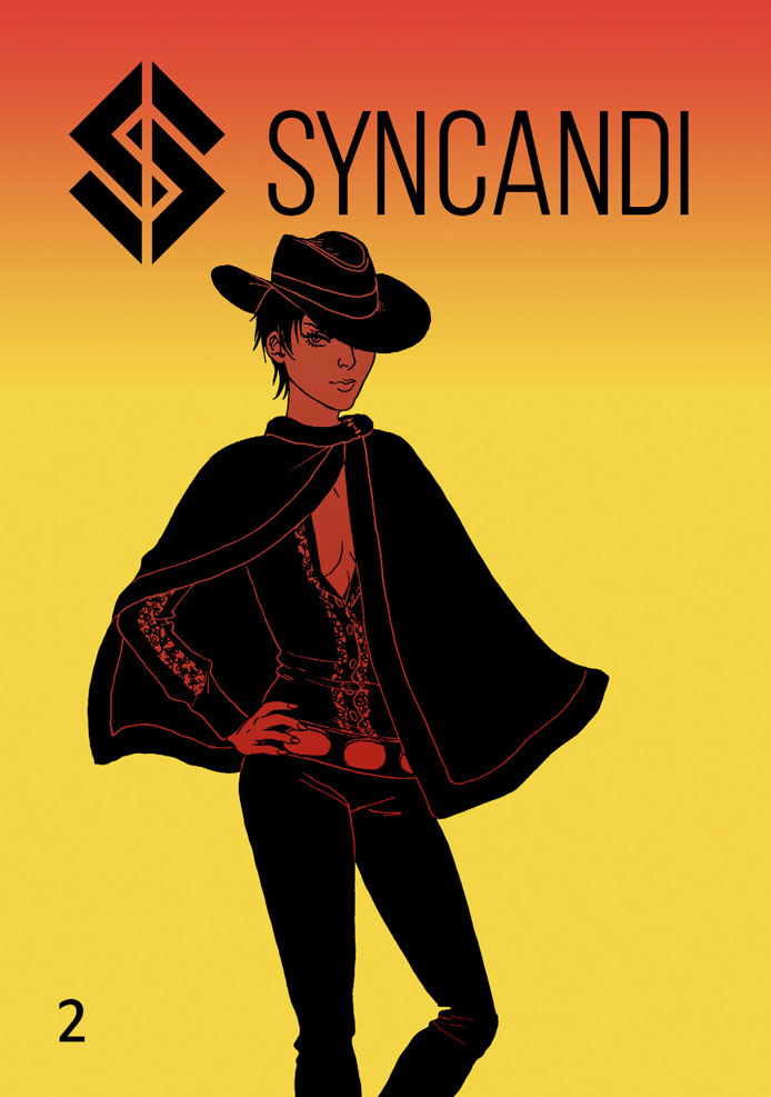 SYNCANDI COMIC 02 COVER SAMPLE