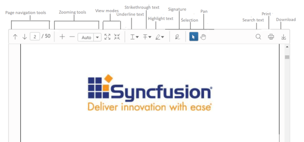 HTML5 JavaScript PDF Viewer for jQuery | Syncfusion