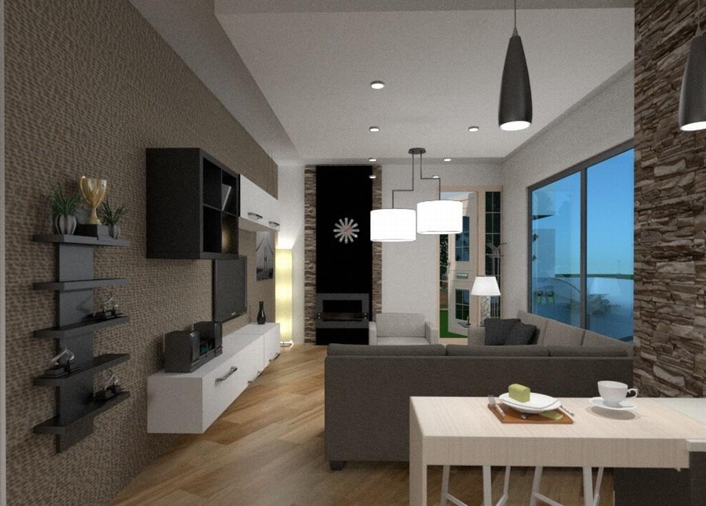 Idea per soggiorno e cucina di c.ca 40 mq. Cucina Soggiorno 40 Mq Syncronia