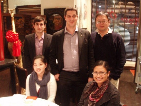 The Syneka Marketing Team including Alex Makin, Natalia Perera, Keat Chiew, Ariel Teh and Michael Scollo.