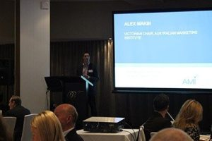 Alex Makin at the AMI Big Data Breakfast