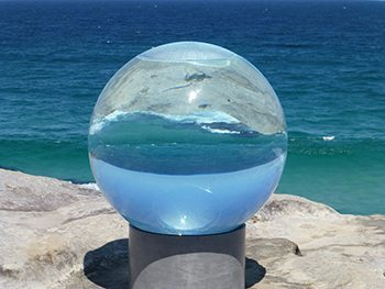 """Horizon"" at Sculptures by the Sea"