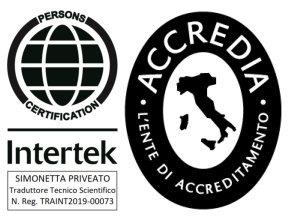 Certificazione Intertek ACCREDIA