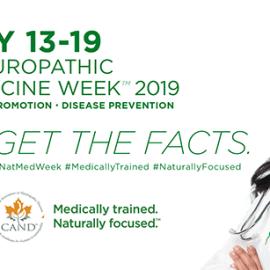 Naturopathic Medicine Week – May 13th – 19th