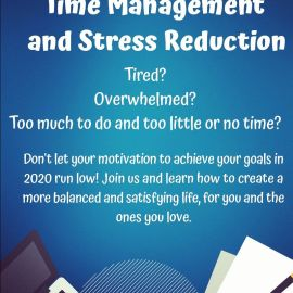 Workshop – Time Management and Stress Reduction