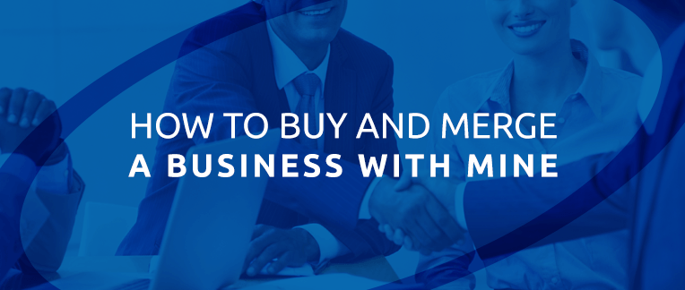 Synergy Business Brokers buy and merge a business.