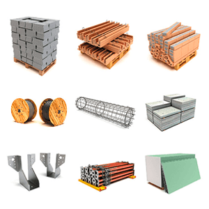 Image result for building materials