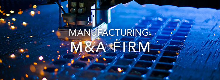 Manufacturing M&A company