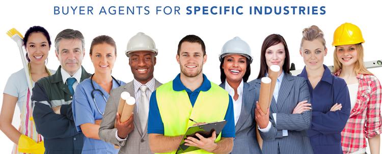 Business Broker Buyer Agents for specific industries