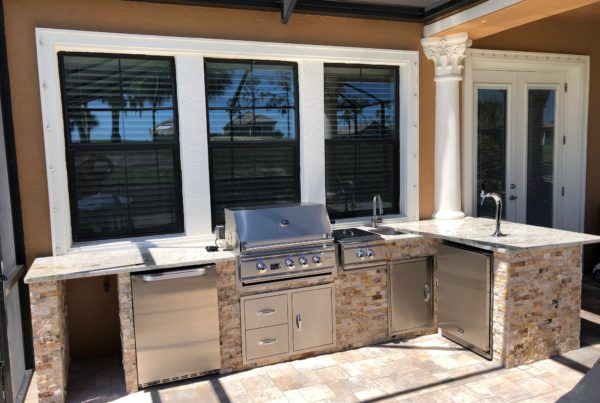 Outdoor Project Gallery Tampa Bay, FL | Custom Kitchens ... on Synergy Outdoor Living  id=45837
