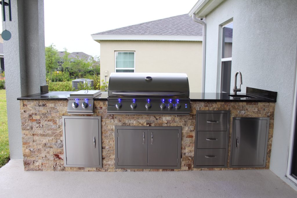 """Summerset Sizzler Pro 40"""" Grill Outdoor Kitchen - Synergy ... on Synergy Outdoor Living  id=65684"""