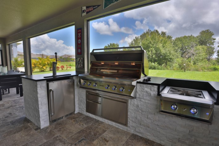 How to Grill Pizza | Custom Kitchens | Synergy Outdoor Living on Synergy Outdoor Living  id=25946