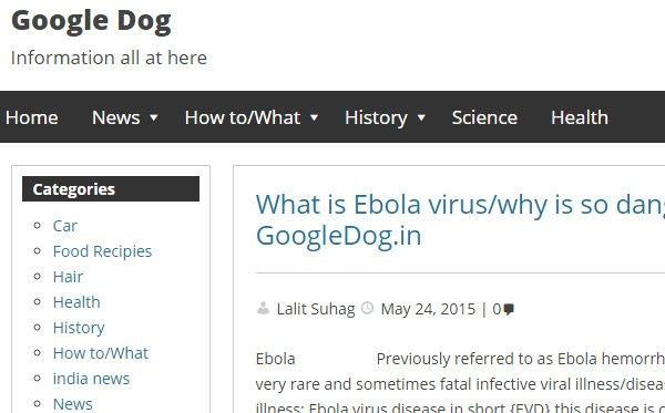 Google Dog