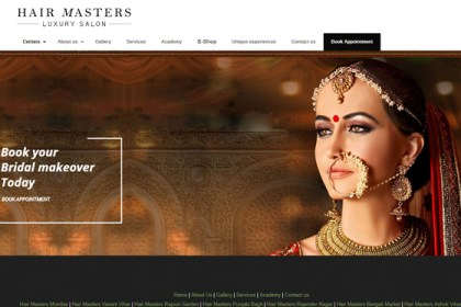 Luxury Salon Website