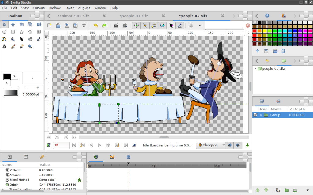 Synfig – Free and open-source animation software