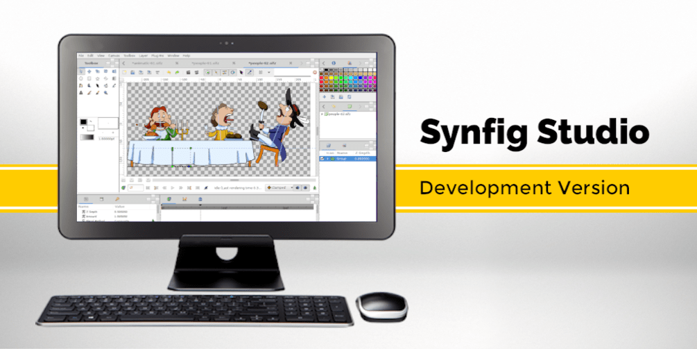 Synfig Studio 1.3.6 released