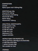 Synovium veterinary horse muscle recovery supplement Lactanase