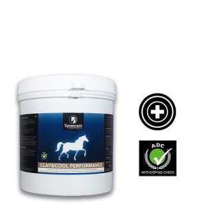 clay for cooling horses legs