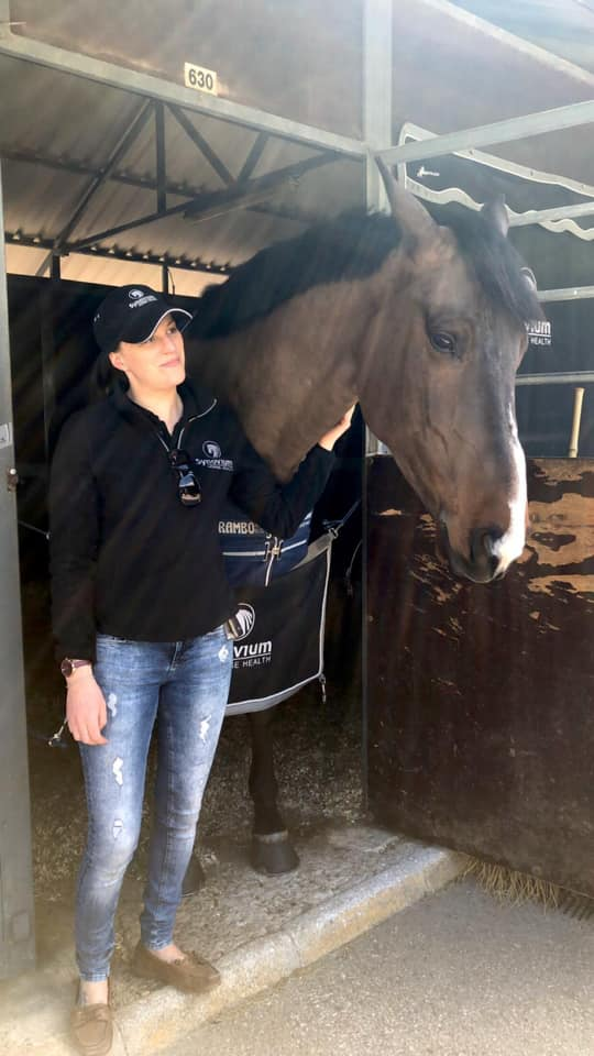 Synovium Horse Supplements Director Vicky Hipkins