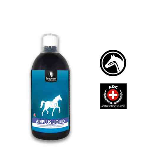 Synovium Airplus Liquid Respiratory Supplement for Horses