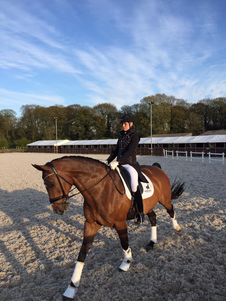 Chloe Vell International Dressage Rider