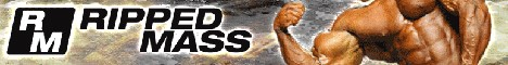 RippedMass.com - Large interactive uncensored bodybuilding website targeting beginners and intermediate athletes.