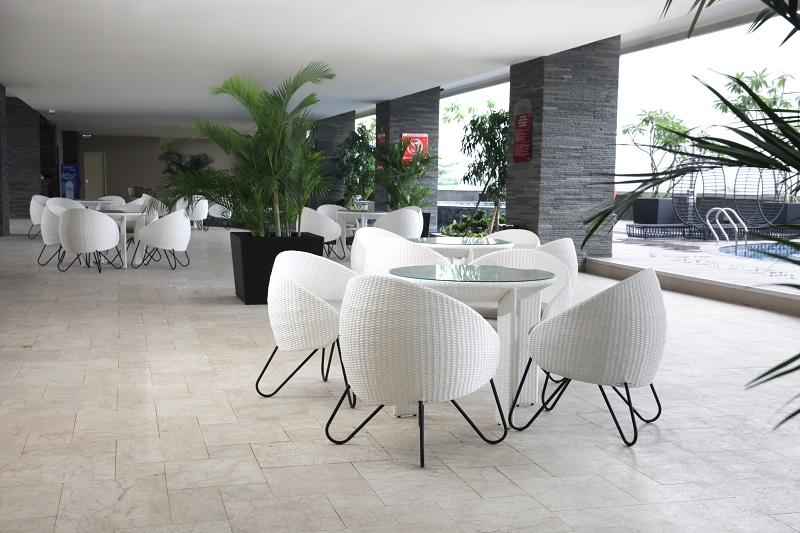 Alana Hotel Synthetic Rattan Furniture Project
