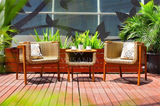 Arka Terrace Set | Arka Synthetic Outdoor Rattan Furniture | Arka Terrace Outdoor Rattan