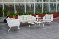 Cledona Outdoor Wicker Living Set | Cledona Outdoor Rattan Living Set | Cledona Outdoor Living Set Furniture