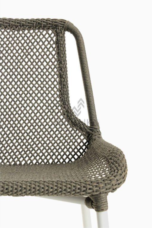 Millen Rope Bistro Side Chair Detail 1