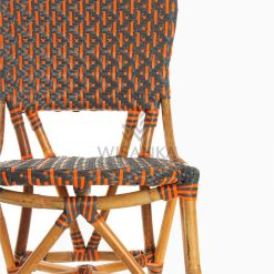 Liko Rattan Bistro Chair for Restaurant and Cafe Furniture Detail 1
