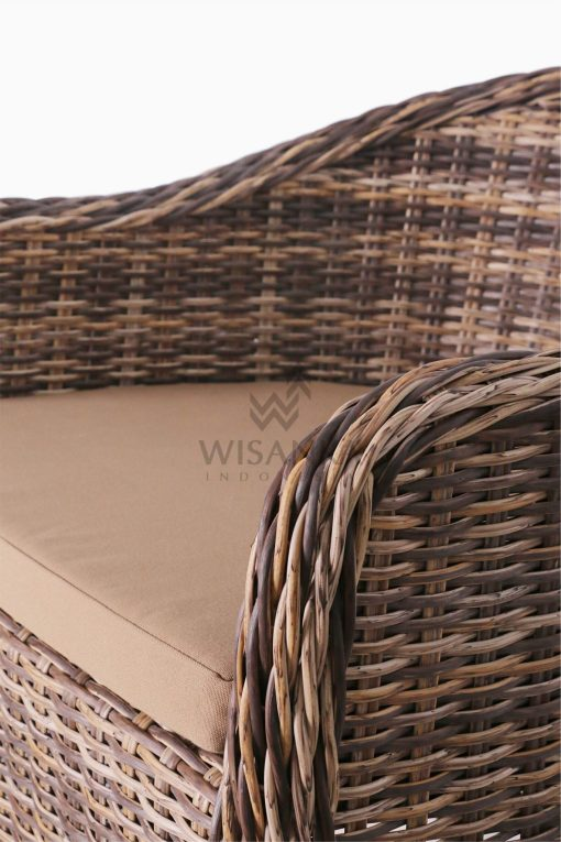 Molde Synthetic Rattan Outdoor Arm Chair detail 2